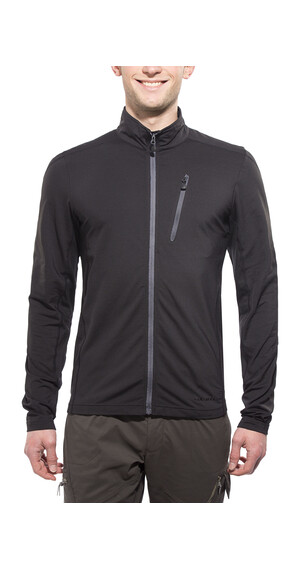 Axant Alps fleece jas Light Powerstretch Heren zwart
